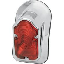 Drag Specialties - Tombstone Taillight - Top Tag - Red Lens