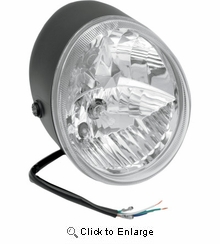 Drag VROD Replacement Headlight Assembly