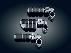 """Dually ISO®-Pegs with Mounts & 1-1/4"""" Magnum Quick Clamps - Chrome"""
