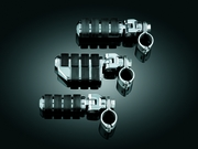 """Dually ISO�-Pegs with Mounts & 1-1/4"""" Magnum Quick Clamps - Chrome"""