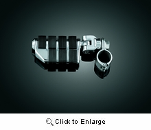 """Dually ISO-Pegs with Mounts & 1"""" Magnum Quick Clamps - Chrome"""