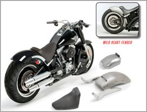 E-Z 200 Night Train Kit for Softail Models 2008 - Present