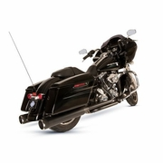 El Dorado - Mk45 Muffler/Header Package with Thruster End Caps for Touring Models - Black