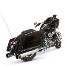 El Dorado - Mk45 Muffler/Header Package with Thruster End Caps for Touring Models - Chrome