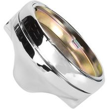 EMGO 7in Side Mount Shell- Chrome