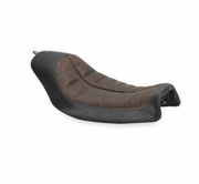Roland Sands Designs Enzo Seats Solo- Brown & Black
