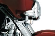 Fairing Mounted Driving Lights with Turn Signals