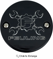 Feuling Wrench Points Cover- Black