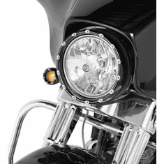 Fire-Ring LED Bezel Turn Signals - Black