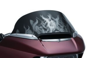 Flame Windshields for '15-'17 Road Glides