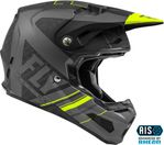 FLY RACING - FORMULA CARBON VECTOR HELMET MATTE HI-VIS/GREY/BLACK