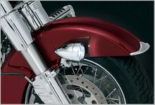 Fork Mounted Driving Lights for Touring Models