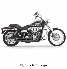 FREEDOM PERFOAMCE Independence Black Exhaust DYNA