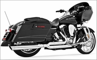 UNION 2-Into-1 Exhaust System - Chrome