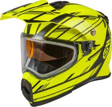 GMAX - AT-21S ADVENTURE EPIC SNOW HELMET MATTE HI-VIS/BLACK