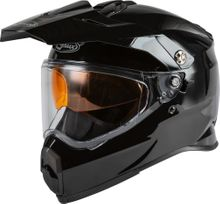 GMAX - AT-21S ADVENTURE SNOW HELMET BLACK