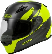 GMAX - FF-49 FULL-FACE DEFLECT HELMET HI-VIS/GREY