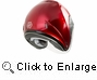 GMAX - OF-17 OPEN-FACE HELMET CANDY RED