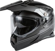 GMAX - AT-21Y ADVENTURE RALEY HELMET BLACK/GREY