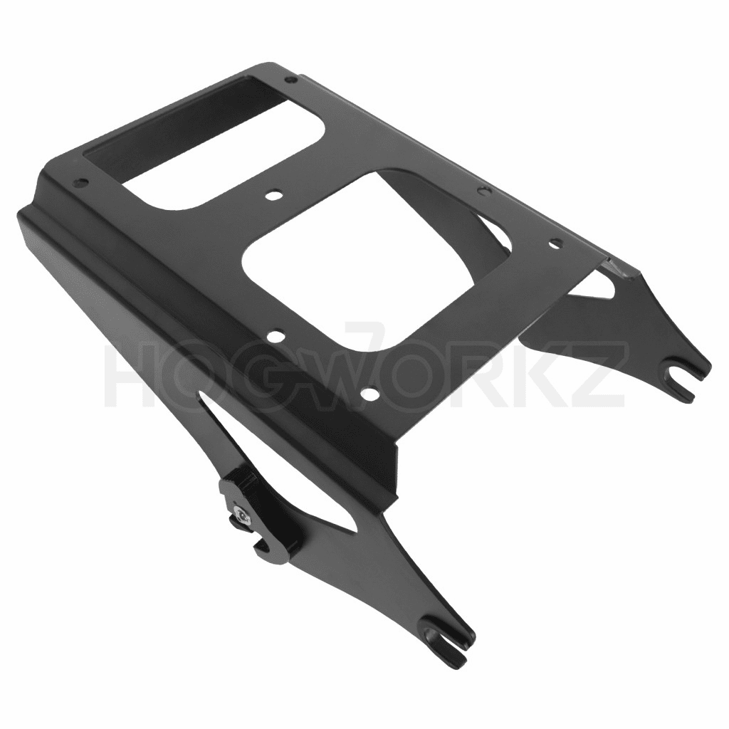 Harley Touring '09-'17 Black Two-Up Tour Pack Mount