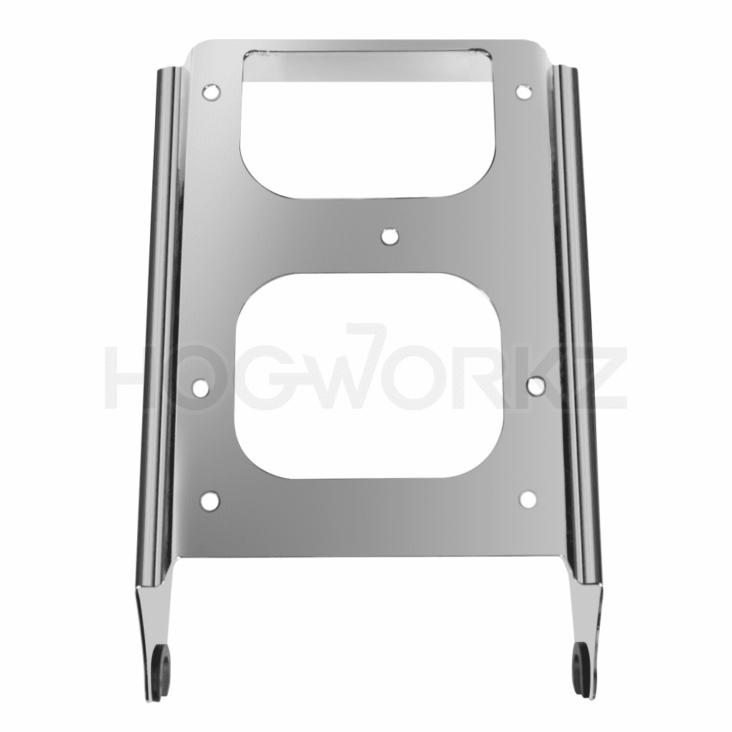 Harley Touring '09-'17 Chrome Two-Up Tour Pack Mount
