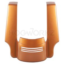 Harley Touring '09-'18 Stretched Tri-Bar Fender Extension-Amber Whiskey