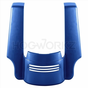 Harley Touring '09-'18 Stretched Tri-Bar Fender Extension - Superior Blue
