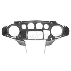 Harley Touring '14-'18 Front Inner Speedometer Cowl Fairing - Charcoal Pearl