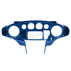 Harley Touring '14-'18 Front Inner Speedometer Cowl Fairing - Superior Blue