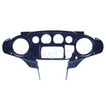 Harley Touring '96-'13 Front Inner Speedometer Cowl Fairing - Big Blue Pearl