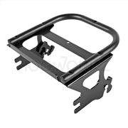 Harley Touring '97-'08 Black Two-Up Tour Pack Mount