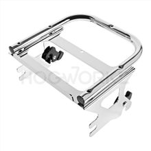 Harley Touring '97-'08 Chrome Two-Up Tour Pack Mount