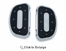 Heavy Industry Passenger Boards in Chrome