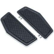Hex Driver Floorboards - Chrome