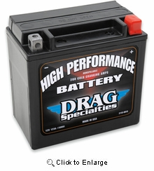 High Performance Battery- YTX14L-BS