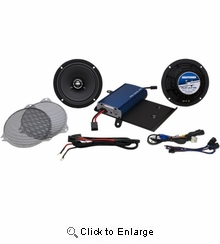 HogTunes 225w 6.5 inch Front Speaker Kit