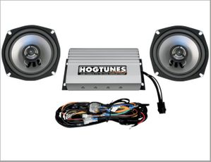 REV Series StreetGlide Amp & Speaker Kit