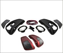 HogTunes Saddlebag Speaker Lid Kit 6 x 9 Speakers