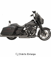 KHROME WERKS Eclipse 2:2 Touring Exhaust System