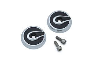 KINETIC REPLACEMENT END CAPS- CHROME