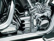 Kuryakyn Deluxe Oil Line Nacelle for Softail