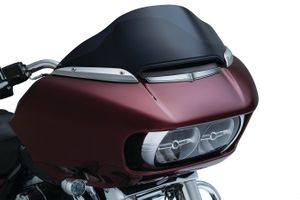Kuryakyn Fairing Vent Accent- Chrome