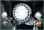 Kuryakyn LED Halo Trim Ring 5 3/4