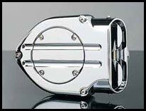 Kuryakyn Hypercharger Smooth Trap Door- Chrome
