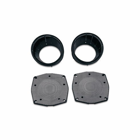 L.E.D Speaker Bezels for Touring & Trike -  Gloss Black