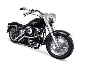 LA Choppers - 187 Custom Exhaust, Straight Cut Tip - Chrome