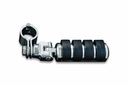 """Large ISO-Pegs with Mounts & 1"""" Magnum Quick Clamps -  Chrome"""