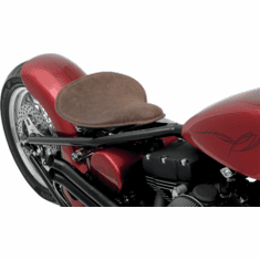 Large Low Profile Spring Solo- Distressed Brown Leather