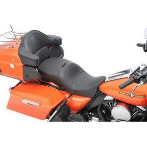 LARGE TOURING SEATS THAT ACCEPT FRAME MOUNTED BACKRESTS MILD STITCH