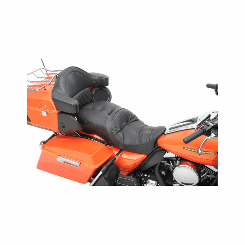 LARGE TOURING SEATS THAT ACCEPT FRAME MOUNTED BACKRESTS PILLOW STYLE